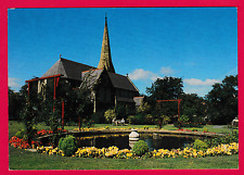 Pretty Gardens with St. John's Methodist Church, Colwyn Bay, Conway