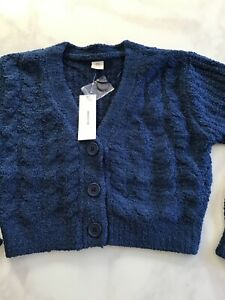 Urban Outfitters Soft Cardi Ladies Blue New £25 Tags Rrp £46 New Season XS