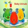Cute Cartoon Frog Baby Potty Training Toilet Urinal Girls Boys Kids Portable