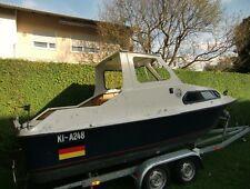 Kajütboot Shetland Pilothouse mit 2000 kg Trailer
