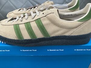 New Adidas Lotherton SPZL Spezial Size 11 Us shoes trainers Style EH3057 Fire