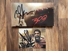 More details for zack snyder signed 300 blu-ray collector's edition