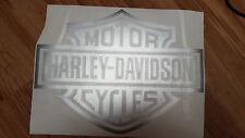 HARLEY DAVIDSON BAR & SHIELD Adesivi Grandi Logo HD 300 x 225mm scelta del colore (GW)