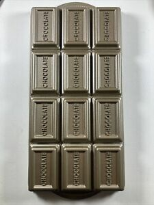 Williams Sonoma Nordic Ware Chocolate Bar Brownie Cake Mold Pan