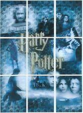 World Of Harry Potter 3D 2nd Puzzle Card Set PZ1-PZ9