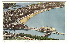 An Aerial View of Weymouth - Photo Postcard 1952