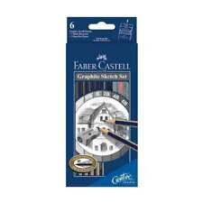 Faber-Castell USA 114000 Creative Studio Graphite Sketch Pencil 8pc Set
