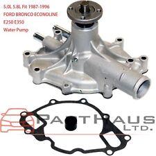 FOR 1987-1996 Ford Bronco Pickup F150 5.0L 5.8L V8 Engine Water Pump