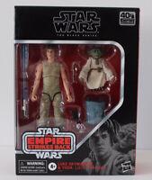 Star Wars The Black Series Luke Skywalker & Yoda (Jedi Training) D4 #01631