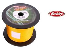 Berkley Whiplash Braid Yellow 1500m Bulk Spool 20lb (10.9kg) 0.06mm SALE