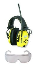 Stanley SYNC Digital AM/FM/MP3 Radio Noise Reduction Headphones SAFETY GLASSES