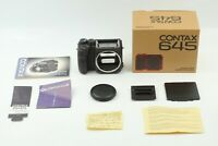 【BOXED N MINT+++】 Contax 645 Medium Format Film Camera Body Only from JAPAN 1077