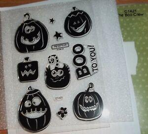 CTMH C1421 BOO CREW ~Jack-o-Lanterns, BOO to YOU!, Pumpkins, Stars