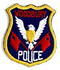 Toppa Patch Woodbury Police USA cm 4,8 x 5,8