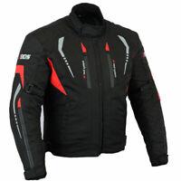 Veste moto pour hommes, veste motard en textile, taille M à 5XL