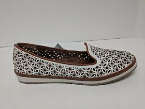 Spring Step Tulisa Slip-On Shoes, White, Womens 40 EU (US 9)