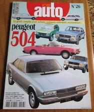 VOTRE AUTO N° 26 GAZOLINE HORS-SERIE / PEUGEOT 504