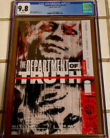 DEPARTMENT of TRUTH #1 COVER A 1ST PRINT CGC 9.8 - (IMAGE) 2020 James Tynion NM+