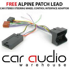 CTSCT003.2 ALPINE Citroen C2 C3 C4 C5 MKII C8 Car Steering Wheel Stalk Adaptor