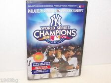 NEW OFFICIAL MLB DVD 2009 WORD SERIES FILM