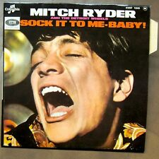 MITCH RYDER Sock It To Me Baby EP RARE FRENCH PS MINT/MINT!