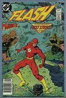 Flash #21 1988 Invasion Manhunter Newsstand Edition Greg LaRocque DC Comics D