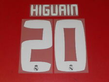 FLOCAGE OFFICIEL HIGUAIN REAL MADRID AWAY 2010/2011