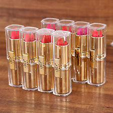 8 Pcs Moisturizing Lipstick Set Cosmetics Makeup Long Lasting Lip Gloss L jjll