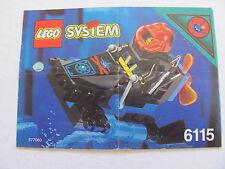 LEGO 6115 @@ NOTICE / INSTRUCTIONS BOOKLET / BAUANLEITUNG