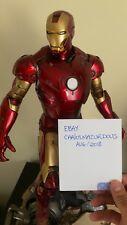 Sideshow Iron Man Mark 3 III Exclusive 1/4 Maquette Statue