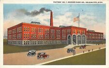 B94/ Coldwater Michigan Mi Postcard c1910 Hoosier Shoe Co Factory No 1