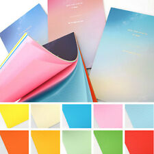 40sheets Vivid Rainbow Aurora Letter Lined Ruled Writing Stationery Paper Pad