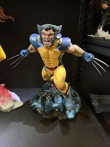 Wolverine Premium Format Statue by Sideshow Collectibles Exclusive EX X-Men