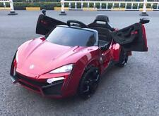 New 12V Lykan Hypersport Electric Battery Kid Ride On Car with Remote Control RD