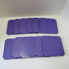 Lot of 12 Rokenbok Purple Square Flat Base Platform Pieces Baseplate Plates