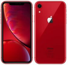Apple iPhone XR MRY62B/A 4G Smartphone 3GB RAM 64GB Unlocked Sim-Free [Red] C+