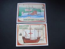 Grenada 1991 Discovery Voyages set of 2 miniature sheets MH SG MS2230 see scans