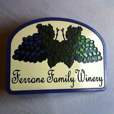 Personalized Wine Cellar 3D routed carved wood bar pub sign Custom
