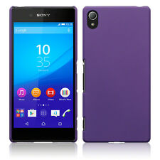 Sony Xperia Z3 Plus,   Rock Cover Case Hybrid Tech Rubberised Bumper Purple