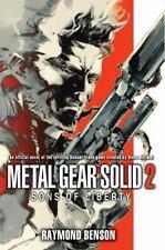 Metal Gear Solid 2: The Novel: Sons of Liberty, Raymond Benson,  Book