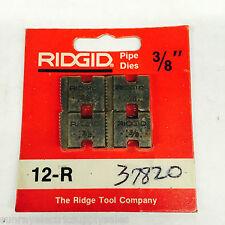 """Ridgid 37820 3/8"""" Pipe Dies NEW in package"""