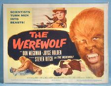 1956 The Werewolf Original Title Lobby Card Sam Katzman Columbia Sci-Fi Horror
