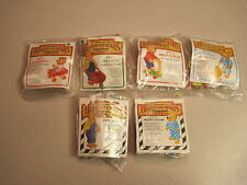McDonalds 1987 Berenstain Bears Complete Set With 2 U3s - Mint in Package