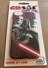 NEW Star Wars Phone Case / Skin Fits iPhone 6 & 7 Last Jedi Rogue 1 Darth Vader