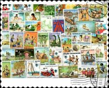 More details for scouts & scouting : 200 different stamps collection
