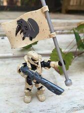 Halo Mega Bloks Set #CNK25 Fireteam Rhino Figure #8 With Flag!!
