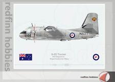 Warhead Illustrated S-2G Tracker 816 Sqn R.A.N 844 Aircraft Print