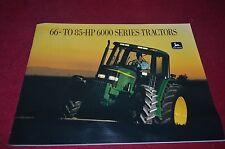John Deere 6200 6300 6400 6500 Tractor Dealer's Brochure YABE10