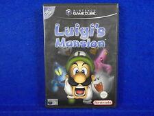gamecube LUIGI'S MANSION Adventure Game Nintendo PAL  wii Luigis