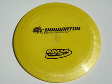 Disc Golf Innova Gstar Dominator Fast Overstable Distance Driver 164g Yellow